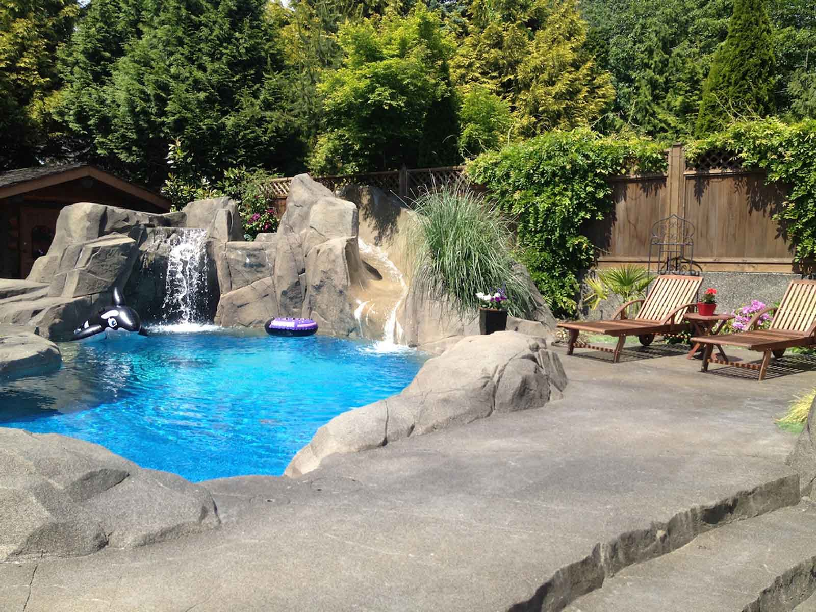 Custom Designed In Ground Swimming Pools Azuro Concepts