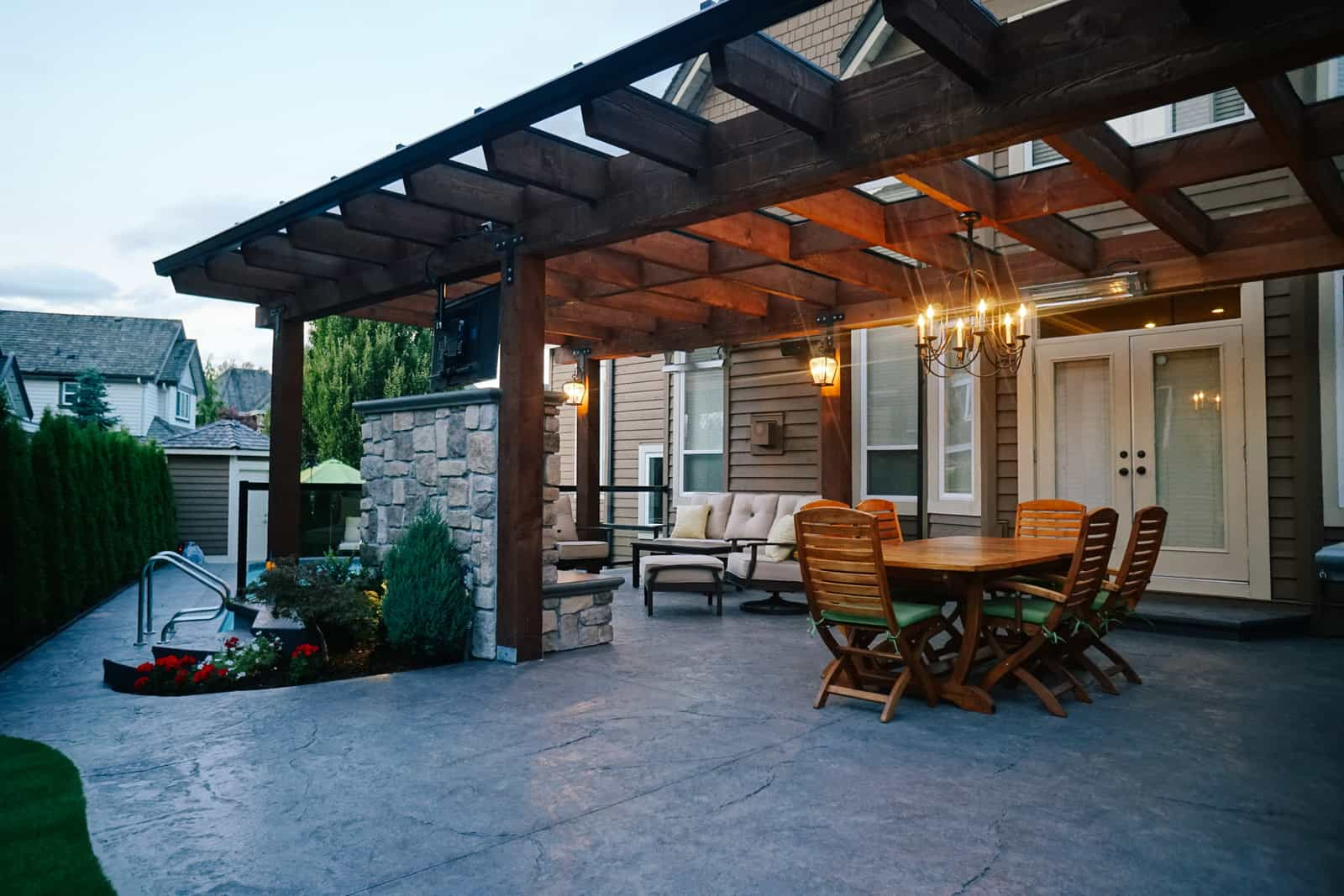 Residential Gallery - Outdoor Renovations | Azuro Concepts on Backyard Yard Design id=25719
